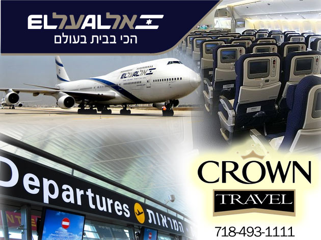 Crown Travel EL AL Deals