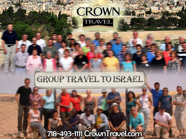 Crown Travel Group Travel to Israel